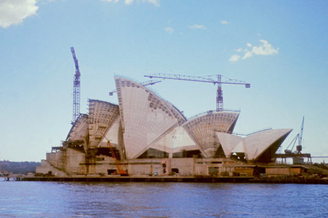 Sydney Opera House - Construction