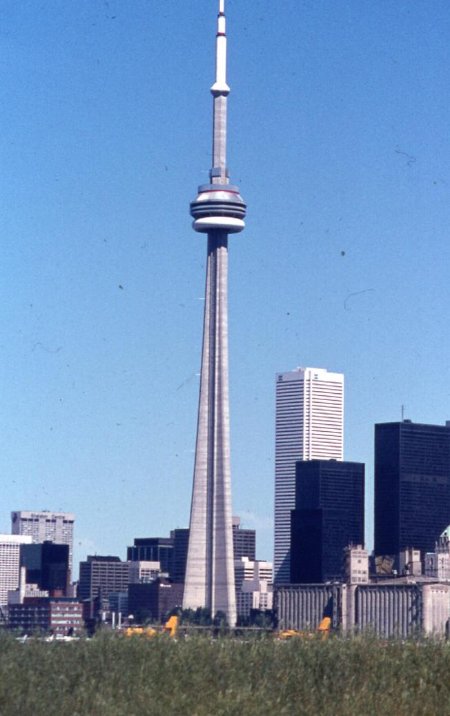 CN Tower in 1976