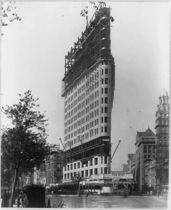 Flatiron under construction
