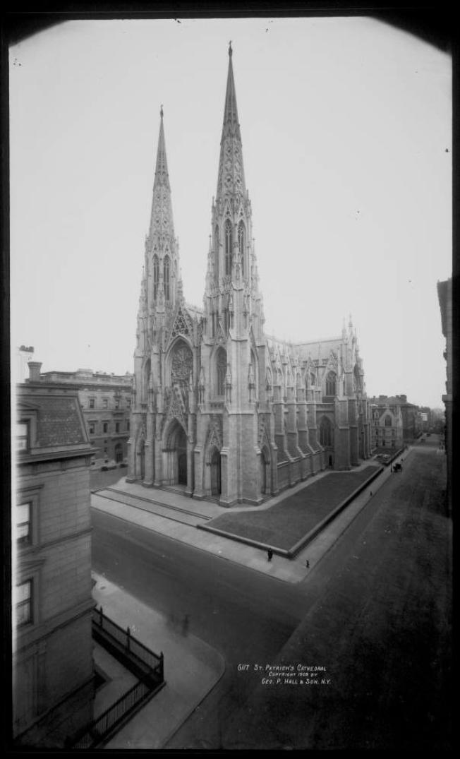 Old photo of St. Patrick's