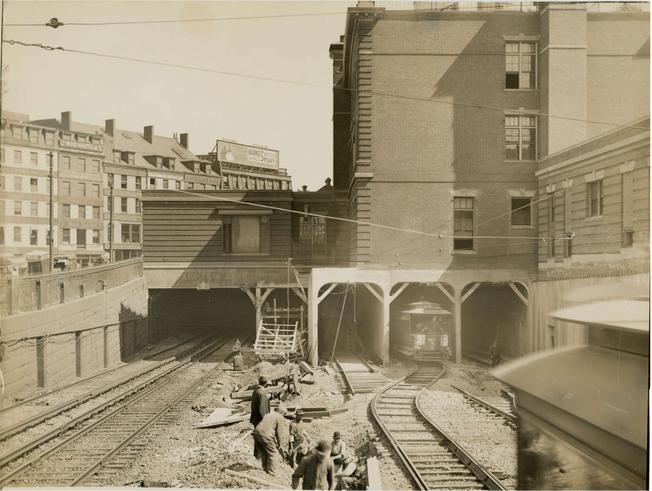Haymarket Relief Station and Canal Street Incline